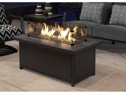 Ow Lee Fire Pit by Ow Lee Casual Fireside 45 X 26 Rectangular Occasional Height