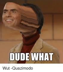 Wut Meme - dude what wut quazimodo meme on me me