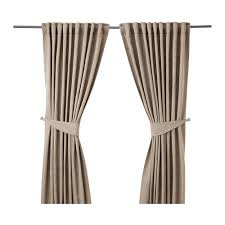 Tie Backs Curtains Blekviva Curtains With Tie Backs 1 Pair Ikea