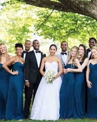 nautical wedding party this blue and white wedding in connecticut was inspired by a china