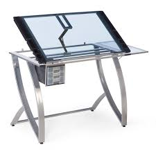 Drafting Table Computer Desk by Studio Designs Futura Advanced Drafting Table With Side Shelf Ebay