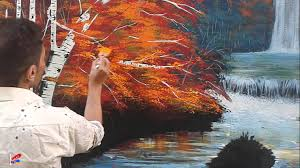 painting on wall water color sardasht ali art 2015 youtube