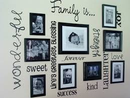 Black And White Wall Decor by Decorations Fascinating Picture Frame Wall Decor Design Ideas