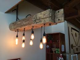 rustic beam light fixture industrial farmhouse lighting 48 reclaimed barn beam light fixture