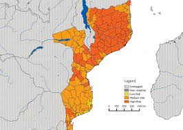 Mozambique Map Mozambique Faculty Of Medicine Imperial College London