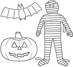 free printable halloween pumpkin coloring pages happy halloween