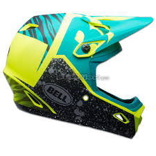 bell motocross helmet blowsion bell transfer 9 helmet matte retina sear emerald
