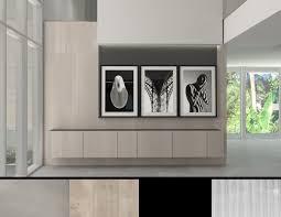 modern minimalist interior design in fort lauderdale residential