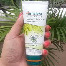 Masker Himalaya himalaya herbals almond cucumber peel mask review indian