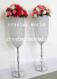 Cheap Glass Flower Vases Best Selling Crystal Vase Large And Tall Flower Vase Centerpiece