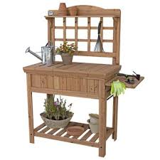 potting benches u0026 tables you u0027ll love wayfair