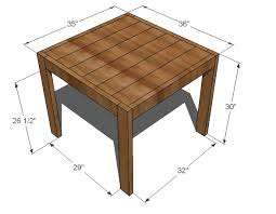 Farm Table Woodworking Plans by How To Make Your Own End Table Cute U0026 Cheap Ana White Build A