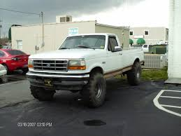 Old Ford Truck Lift Kits - 35 u0027s on a 91 f150 with 2 5