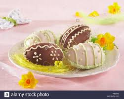 coconut eggs easter coconut easter eggs step by step stock photo royalty free image