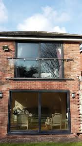 stylish glass juliet balcony in any size delivery in 2 days