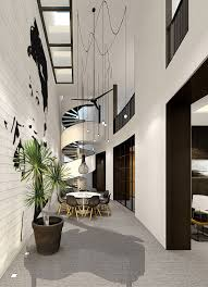 Atrium House by Curved Atrium House Studio Xmsl