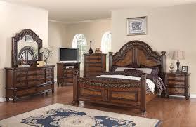 Ashley Furniture Porter Bedroom Set by 4 Pc Generation Trade Caesar Collection Dark Walnut Queen Bedroom