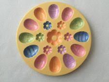 egg plate easter egg plate ebay