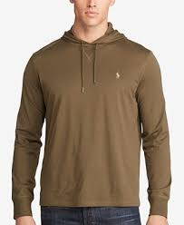 polo ralph lauren men u0027s big u0026 tall featherweight pima hoodie