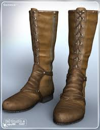 everyday motorcycle boots stalker boots for genesis 3d models and 3d software by daz 3d