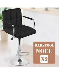 swivel breakfast bar stools savings on yaheetech set of 2 breakfast faux leather bar stools