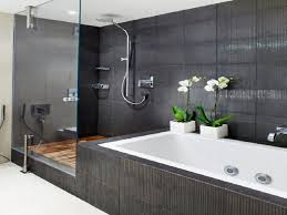 bathroom tile decorating ideas chineses evergreen and cylinder