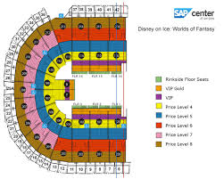 Miller Park Seating Map Sap Center At San Jose San Jose Tickets Schedule Seating