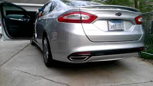 2013 ford fusion exhaust cd3 performance 2013 fusion 2 0 ecoboost fwd magnaflow exhaust