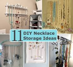 best necklace stores images 11 innovative diy necklace storage ideas diy home things jpg