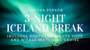 northern lights trip iceland iceland break inc northern lights whale watching tours