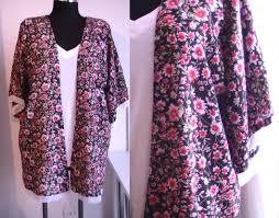 patron robe de chambre femme gratuit tuto couture kimono d été avec franges patron gratuit