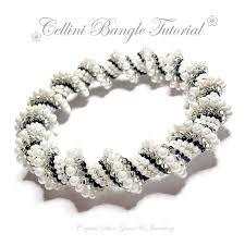 bracelet bead tutorials images Cellini spiral bangle tutorial crystal star gems jewellery jpg