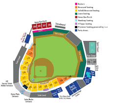 Diamondbacks Stadium Map Seating Chart Round Rock Express Dell Diamond