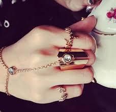 women hand bracelet images 2015 wholesale retro bracelets fashion ring chain bangles women jpg