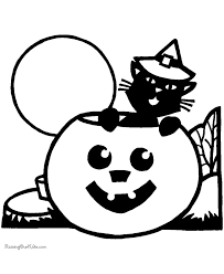 printable halloween coloring pages 012