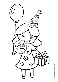 party coloring pages u2013 coloring pages for kids