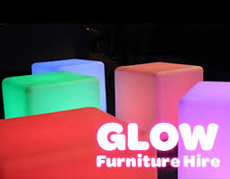 light up cubes glow cube hire sydney seats that light up and glow for your party