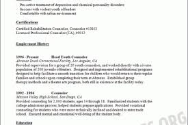 Substance Abuse Counselor Resume Sample by Licensed Professional Counselor Resume Sample Reentrycorps