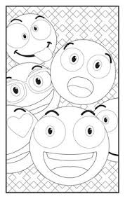 Free Emoji Coloring Pages Kids Includes Color