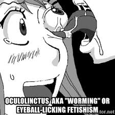 eyeball licking meme generator