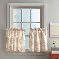Orange Kitchen Curtains Sale Buy Kitchen Curtains From Bed Bath U0026 Beyond