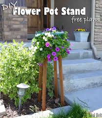 diy flower pot stand her tool belt