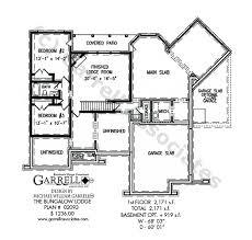 bungalow plans bungalow lodge house plan house plans by garrell associates inc