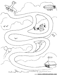 airplane maze activity page create a printout or activity