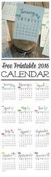 free 2016 printable calendar clean and scentsible