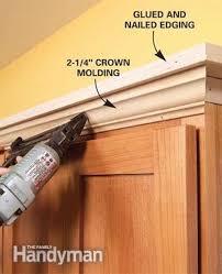 kitchen cabinet molding ideas best 25 cabinet trim ideas on cabinet molding diy