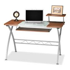 Mobile Computer Desk Officemax Glass Desk Best Home Furniture Decoration