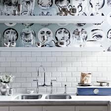 wallpaper designs for kitchen kitchen splashbacks kitchen design ideas ideal home