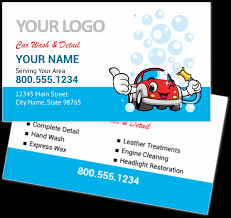 Car Name Card Design Bubble Carwash Business Cards Youprint Com