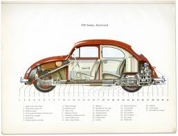 beetle cut away 1965 beetles sedans and volkswagen